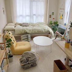 Room Ideas Bedroom, Bedroom Decor, Pastel Room, Pretty Bedroom, Minimalist Room, Aesthetic Room Decor, Home Room Design, Dream Rooms, House Rooms