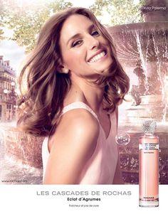 Olivia Palermo Rochas Les Cascades perfume ad campaign