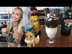 Pokemon Go Eevee Cocktail - TipsyBartender.com