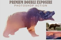 Double Exposure Photoshop Action - Actions - 1
