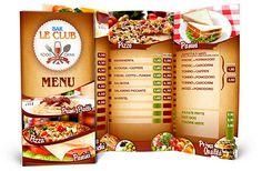 35 best tri fold menu images in 2018 delivery menu restaurant