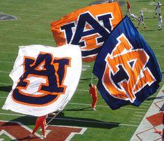 Love Our Auburn Flags!!