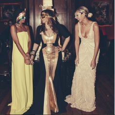 I guess homegirl is in a sharing mood. Check out the pics from Beyoncé's New Year and Mama Tina's birthday party.