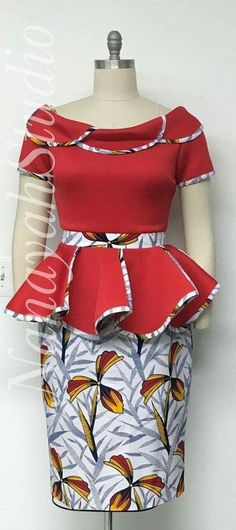 ankara stil Discover hottest ankara styles of 2020 and where to get them. Your resource for the best dashiki and ankara fashion for prom dresses, weddings. Ankara Dress Styles, Latest African Fashion Dresses, African Dresses For Women, African Print Dresses, African Print Fashion, African Attire, Ankara Fashion, Nigerian Fashion, Africa Fashion