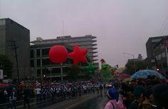 Monterrey, Desfile Navideño 2014