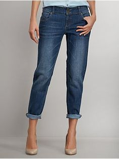 Slim Slouch Jean - Blue Bowery Wash from New York & Company