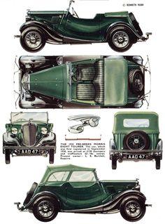Morris Eight | SMCars.Net - Car Blueprints Forum