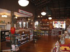 Apple Barn Village The Inside Of The Cider Mill General Store..It's Very Quaint