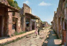 Une rue, Pompeï