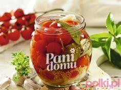 Marynowane pomidorki koktajlowe -Przepis Wine Glass, Salads, Tableware, Food, Dinnerware, Tablewares, Essen, Meals, Dishes