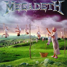 November 1, 1994:  Megadeth released their Youthanasia album.   #Megadeth #Youthanasia  with Dave Mustaine & David Ellefson