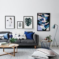 Modern Living Room Decor Ideas You Can Easily Pull Off Modern living room Living room decor apartment Living room decor ideas Living room design Living room furniture Living room wall decor Living Room Color Schemes, Living Room Grey, Living Room Interior, Home Interior, Home Living Room, Apartment Living, Living Room Designs, Cozy Living, Interior Colors