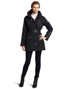 Hawke & Co Women's All Weather Jacket With Zippers $120.00