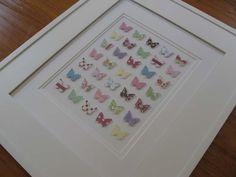 3-D Butterfly wall art