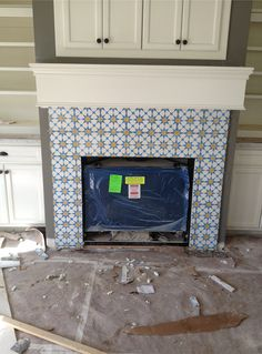 1000 Images About Fireplaces On Pinterest Tiled