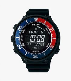Seiko SBEP003 digital watch added onto men, watches, product, watch, watch-accessory,