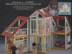 I loved this house, as an adult finding it at a garage sale for $7.50 back in the early 90's.  I....played with it and redecorated it.  LOVED IT ALL.
