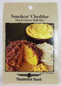 Smoken' Cheddar Cheese Ball & Dip Mix – Thunderbird Ranch Gourmet Foods
