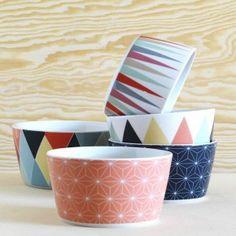 6 bols en porcelaine micromotif deco detalles para casa pinterest bol en porcelaine. Black Bedroom Furniture Sets. Home Design Ideas