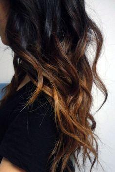 Dark Ombre Hair Looks Inspiration