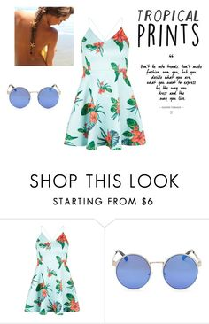 """""""Tropical Gardens"""" by happybubbles1 ❤ liked on Polyvore featuring New Look"""