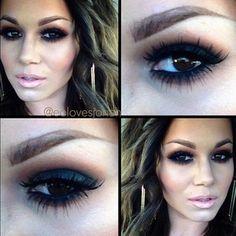 super dramatic makeup