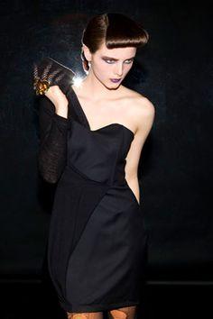 Risto. little black dress.