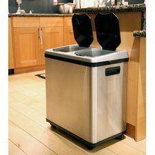 16 Gallon Multi Compartment Recycling Bin