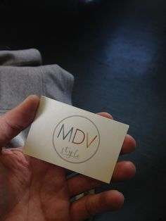 Business card:)