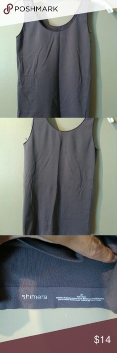 Shimera Two Way Seamless Tank M Great, 93% nylon, 7% spandex. Excellent condition. No snags or pulls. Seamless and reversible. Shimera Tops Tank Tops