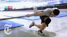 Working Out With Olympic Speedskater Eddy Alvarez | The Workout | The Ne...
