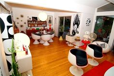 60s Space Age living room