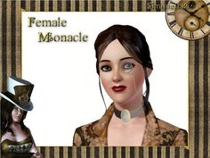 SimonettaC - Female Monacle