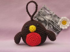 Crochet Robin Christmas Tree Decoration £3.50
