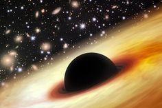 太陽120億個分の質量を持つ、超巨大なブラックホールが発見された。