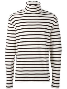 Shop Our Legacy striped turtleneck sweater in cris from the world's best…