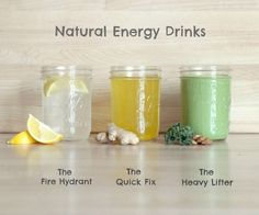 I started out with the intention of coming up with a recipe for a homemade version of the store bought energy drinks, but after doing some research an...