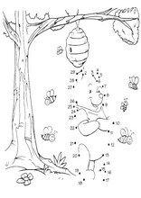 Oppgaver for barn å skrive ut Koble prikkene følgende numre Le Point, Coloring Sheets, Tapestry, Activities, Blog, Fictional Characters, 36, Even And Odd, Dotted Drawings
