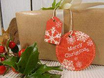 Geschenkanhänger Weihnachten Nikolaus Geschenkdeko