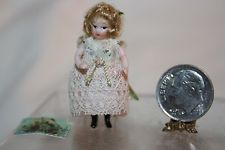 """Winifred Holloway - 1 1/2"""" jointed porcelain doll"""