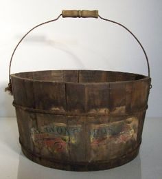 antique candy bucket.....
