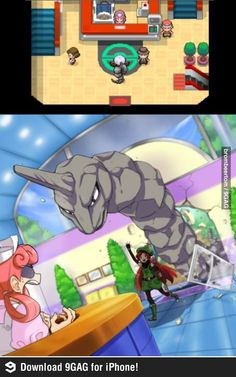 How it Really is #onyx  I apologize to all the PokeCenter's I may have destroyed when I had my large Gyarados following me.
