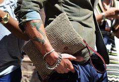 Fancy - Woven Straw Bag