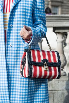 Best Street Style Bags and Shoes at Fashion Week Fall 2015 | POPSUGAR Fashion