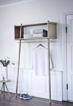 25 Home Decoration Organization and Storage Tips Cosy Interior. Best Scandinavian Home Design Ideas. The Best of home interior in Small Closet Space, Small Spaces, Coat Storage Small Space, Small Small, Diy Furniture, Furniture Design, Danish Furniture, Furniture Quotes, Hallway Furniture