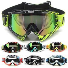 Nieuwe Motocross Bril Óculos Fietsen MX Off Road Helm Ski Sport Gafas Voor Motorfiets Crossmotor Racing Bril Off Road Dirt Bikes, Dirt Bike Gear, Motorcycle Dirt Bike, Moto Bike, Fox Motocross, Motocross Goggles, Motorcycle Goggles, Sport Atv, Ski Sport