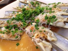 Razor Clams: Jumbo - Seafood Centre on East Coast Road