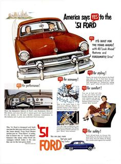 1951 Ford.....You always have a soft spot for your first car...no matter how badly it treated you.