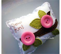 Riley Blake Designs -- Cutting Corners: Sew Fun Pincushion