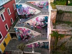 Alicè (Alice Pasquini) - Italian Street Artist - Salerno (IT) - 10/2014